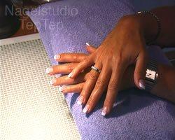 het eindresultaat acryl nagels