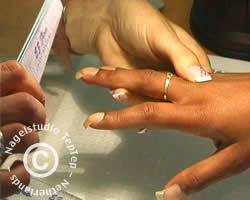 vijlen van fiberglas nagel