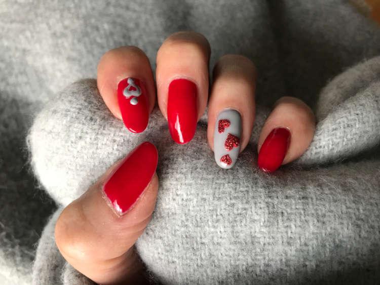 valentijnsnagels